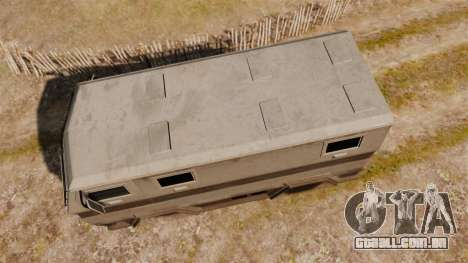 GTA IV TBoGT HVY Brickade para GTA 4 vista direita