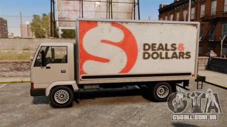 Mula com um novo anúncio para GTA 4 vista direita