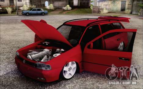 Volkswagen Parati SPS Club para GTA San Andreas vista traseira