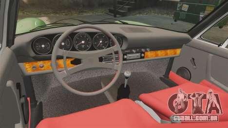 Porsche 911 Targa 1974 para GTA 4 vista interior