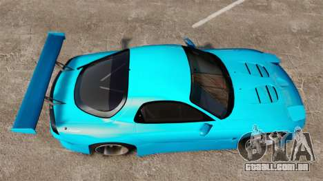 Mazda RX-7 Super Edition para GTA 4 vista direita