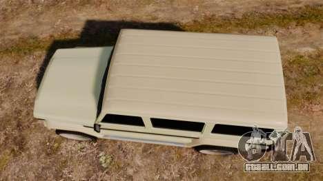 GTA V Benefactor Dubsta para GTA 4 vista direita