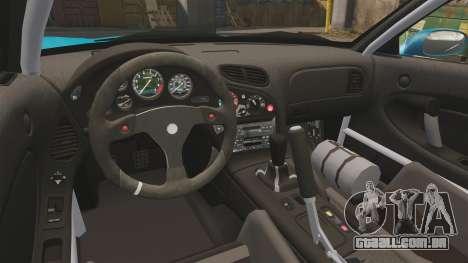 Mazda RX-7 Super Edition para GTA 4 vista de volta