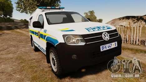 Volkswagen Amarok 2012 SAPS [ELS] para GTA 4