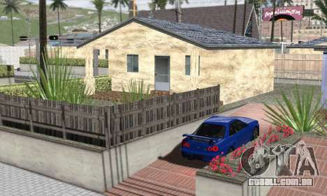 ENBSeries For Low PC para GTA San Andreas por diante tela