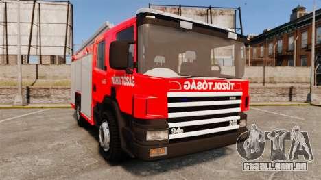 Húngaro caminhão de bombeiros [ELS] para GTA 4