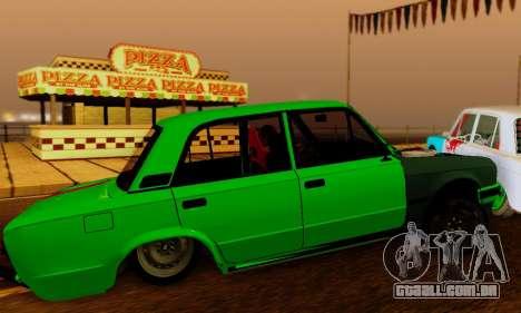 BMWAZ para GTA San Andreas vista traseira