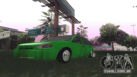 Chevrolet Corsa Wagon para GTA San Andreas vista interior