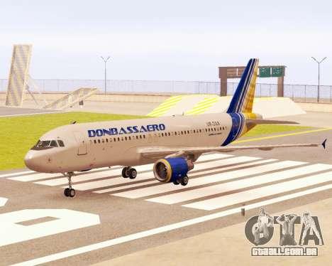 A Airbus A320-200 Donbassaero para GTA San Andreas