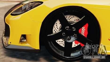 Mazda RX7 Veilside V8 para GTA 4 vista superior