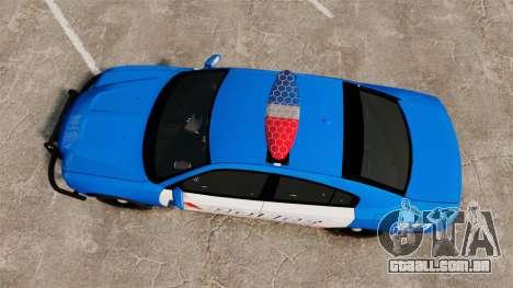 Dodge Charger 2013 LCPD [ELS] para GTA 4 vista direita