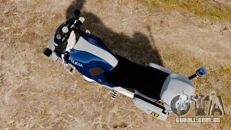 BMW R1150RT Portuguese Police [ELS] para GTA 4 traseira esquerda vista