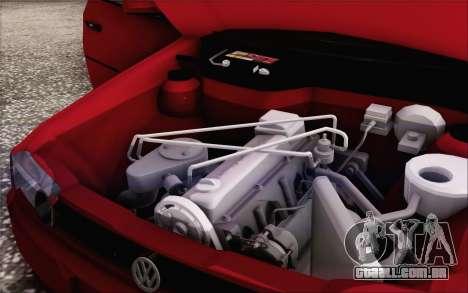 Volkswagen Parati SPS Club para vista lateral GTA San Andreas