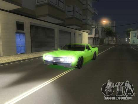 Drag Picador v1 para GTA San Andreas esquerda vista