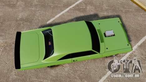 Dodge Dart 1968 para GTA 4 vista direita