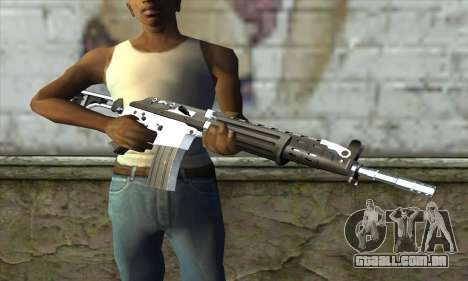 Galil para GTA San Andreas terceira tela