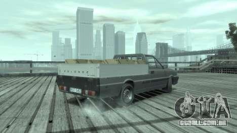 Daewoo-FSO ST 2000 para GTA 4 esquerda vista
