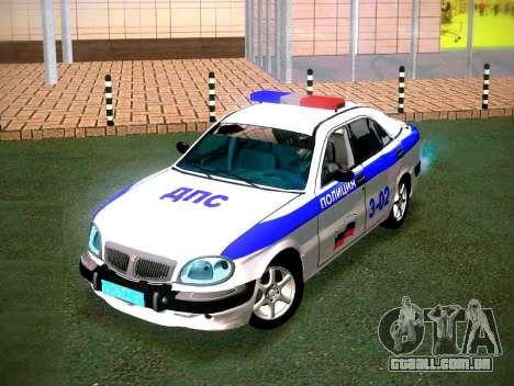 Volga GAZ 3111 DPS para GTA San Andreas vista traseira