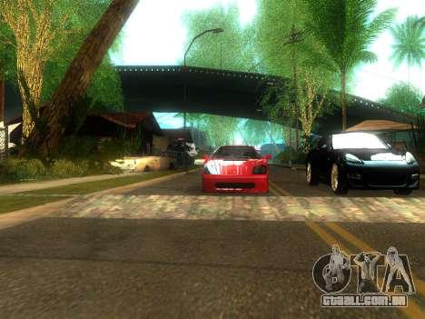 New Grove Street v2.0 para GTA San Andreas quinto tela