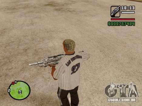 M-86 Sabre v.2 para GTA San Andreas sétima tela