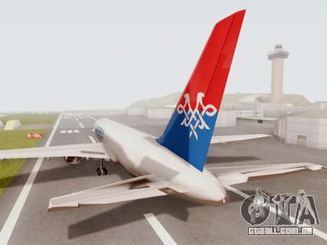 Boeing 767-300 para GTA San Andreas vista direita