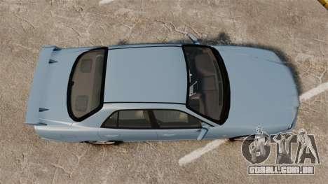 Nissan Skyline ER34 GT25 para GTA 4 vista direita