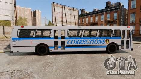 Brute Bus Corrections [ELS] para GTA 4 esquerda vista