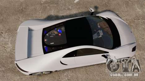 GTA Spano para GTA 4 vista direita