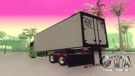 Scania 310 Bau para GTA San Andreas esquerda vista