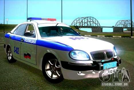 Volga GAZ 3111 DPS para GTA San Andreas