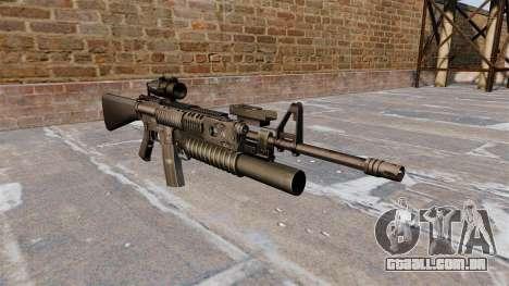 Tática rifle M16A4 para GTA 4