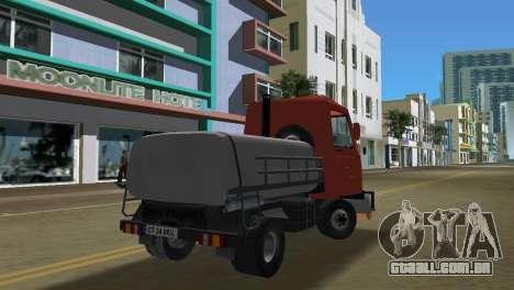 Multicar para GTA Vice City vista traseira esquerda
