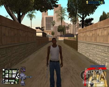 C-HUD by Mark Osborne para GTA San Andreas terceira tela