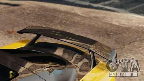 Mazda RX7 Veilside V8 para GTA 4 vista lateral