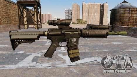 Automático carabina M4 para GTA 4 terceira tela