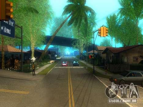 New Grove Street v2.0 para GTA San Andreas segunda tela