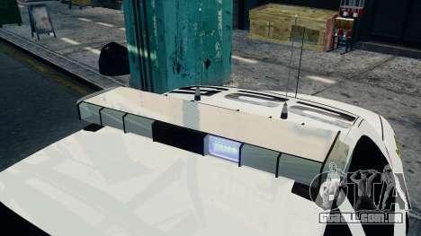 Ford Crown Victoria LCPD [ELS] para GTA 4 traseira esquerda vista