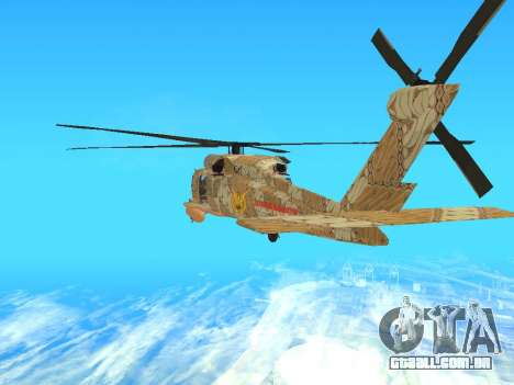 SH-60  Batik Indonesia para GTA San Andreas vista direita