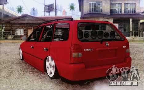Volkswagen Parati SPS Club para GTA San Andreas esquerda vista