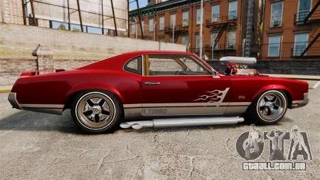Declasse SabreGT Mexican Style para GTA 4 esquerda vista