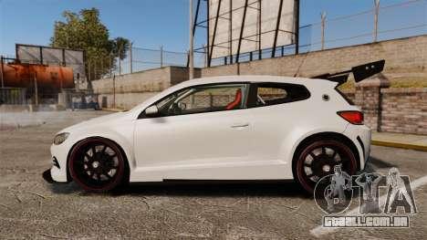 Volkswagen Scirocco para GTA 4 esquerda vista