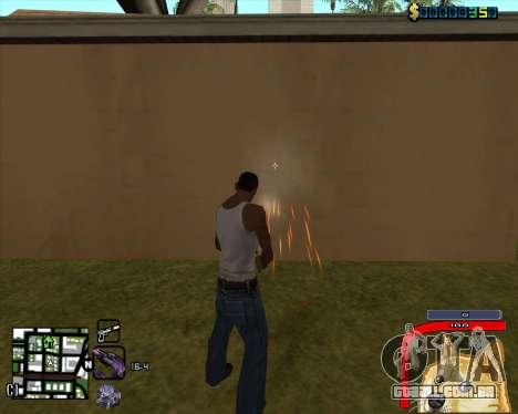 C-HUD by Mark Osborne para GTA San Andreas segunda tela