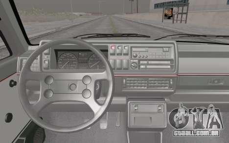 Volkswagen Golf Mk 2 para GTA San Andreas vista direita