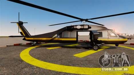 GTA V Annihilator para GTA 4 esquerda vista