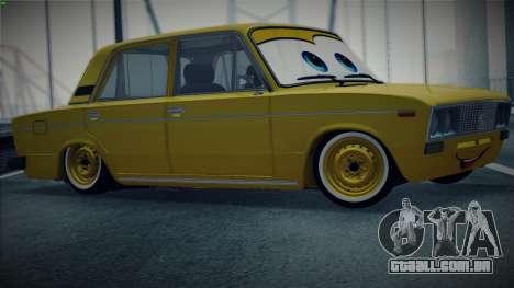 VAZ 2106 pela Carros para GTA San Andreas esquerda vista