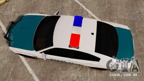 Dodge Charger 2013 Patrol Supervisor [ELS] para GTA 4 vista direita