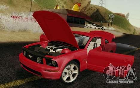 Ford Mustang GT 2005 para GTA San Andreas