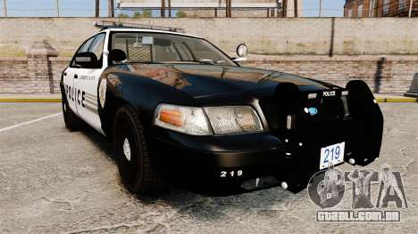 Ford Crown Victoria LCPD [ELS] para GTA 4