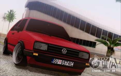 Volkswagen Golf Mk 2 para GTA San Andreas