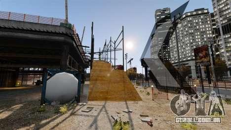 Fora-de-pista de estrada para GTA 4 terceira tela